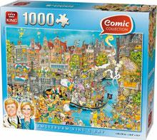 Amsterdam Koningsdag Puzzel