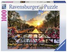 Amsterdam Legpuzzels Ravensburger Puzzel Fietsen in Amsterdam