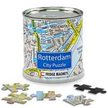 Magnetische Rotterdam Legpuzzel