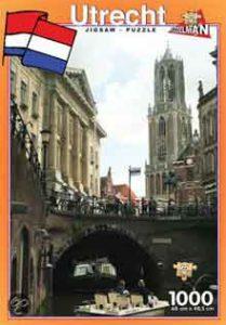 Utrecht Legpuzzels Puzzel Dom en Gracht