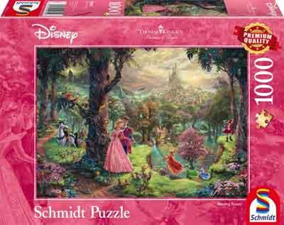 Doornroosje Puzzel Sleeping Beaty Legpuzzel
