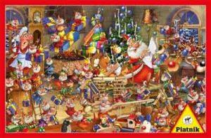 Kerstman Puzzel Weihnachtsmann Ruyer