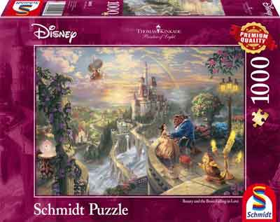 Puzzel Beauty and the Beast Disney Legpuzzels