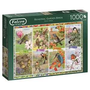 Vogel Puzzel Seasonal Garden Birds Falcon