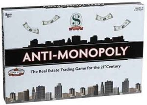 Anti-Monopoly Spel