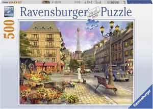 Wanderling door Parijs Legpuzzels Ravensburger