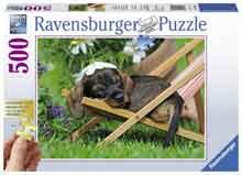 Honden Legpuzzel Teckel
