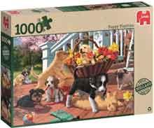 Hondenpuzzel Puppie Streken