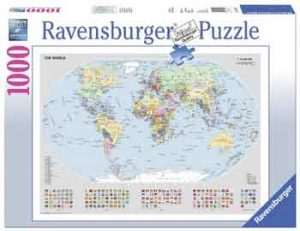 Landkaart Legpuzzel Wereldkaart Ravensburger