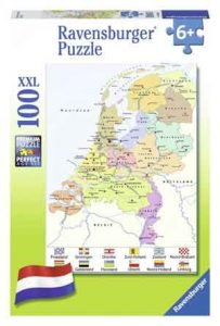 Legpuzzel Nederland Landkaart Puzzel Revensburger CITO