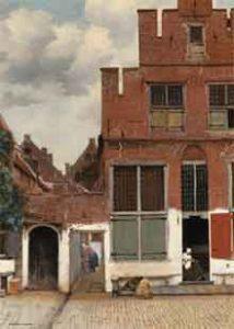 Puzzel Het straatje van Vermeer Legpuzzel