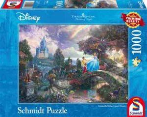 Cinderella Puzzel Assepoester Legpuzzel