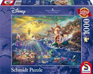 Puzzel Kleine Zeemeermin Legpuzzel