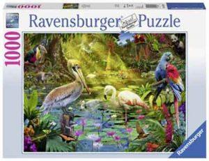Puzzel Vogels in het Paradijs