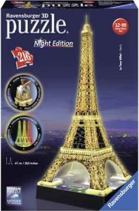 Eifelftoren 3D Puzzel Night Edition