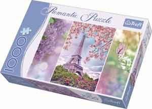 Puzzel Lente in Parijs Romatic Legpuzzel