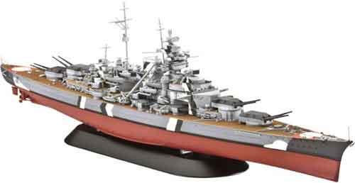 Bouwpakket Duits Oorlogsschip Bismarck
