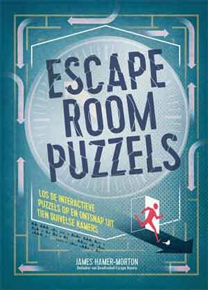 Escape Room Puzzels Puzzelboek van James Hamer-Morton