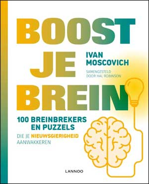 Ivan Moscovich Boost je brein puzzelboek breinbrekers