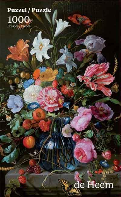 Puzzel Vaas met Bloemen van Jan de Heem