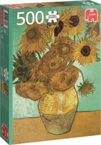 Van Gogh Zonnebloemen Puzzel 500 Stukjes