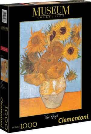 Van Gogh Zonnebloemen Puzzel 1000 stukjes