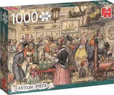 Anton Pieck Puzzel De Tentoonstelling