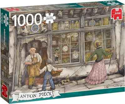 Anton Pieck Puzzel The Clock Shop