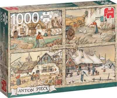 Anton Pieck Puzzels Vier Seizoenen