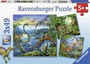 Dinosaurus Puzzel - Ravensburger Dinosauriërs