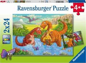 Dinosaurus Puzzels Ravensburger Vrolijke Dino's