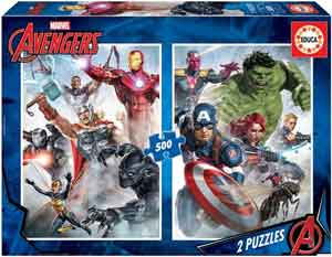 Educa Marvel Superhelden Legpuzzel Avengers